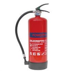 Dry Powder Extinguisher 6kg